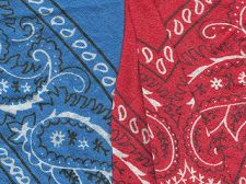 paisley Red_and_blue_bandannas