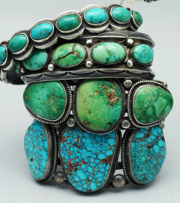old and new navajo bracelets