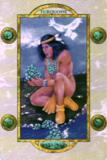 """The Medicine Keeper,"" Aora Gemstone Oracle"