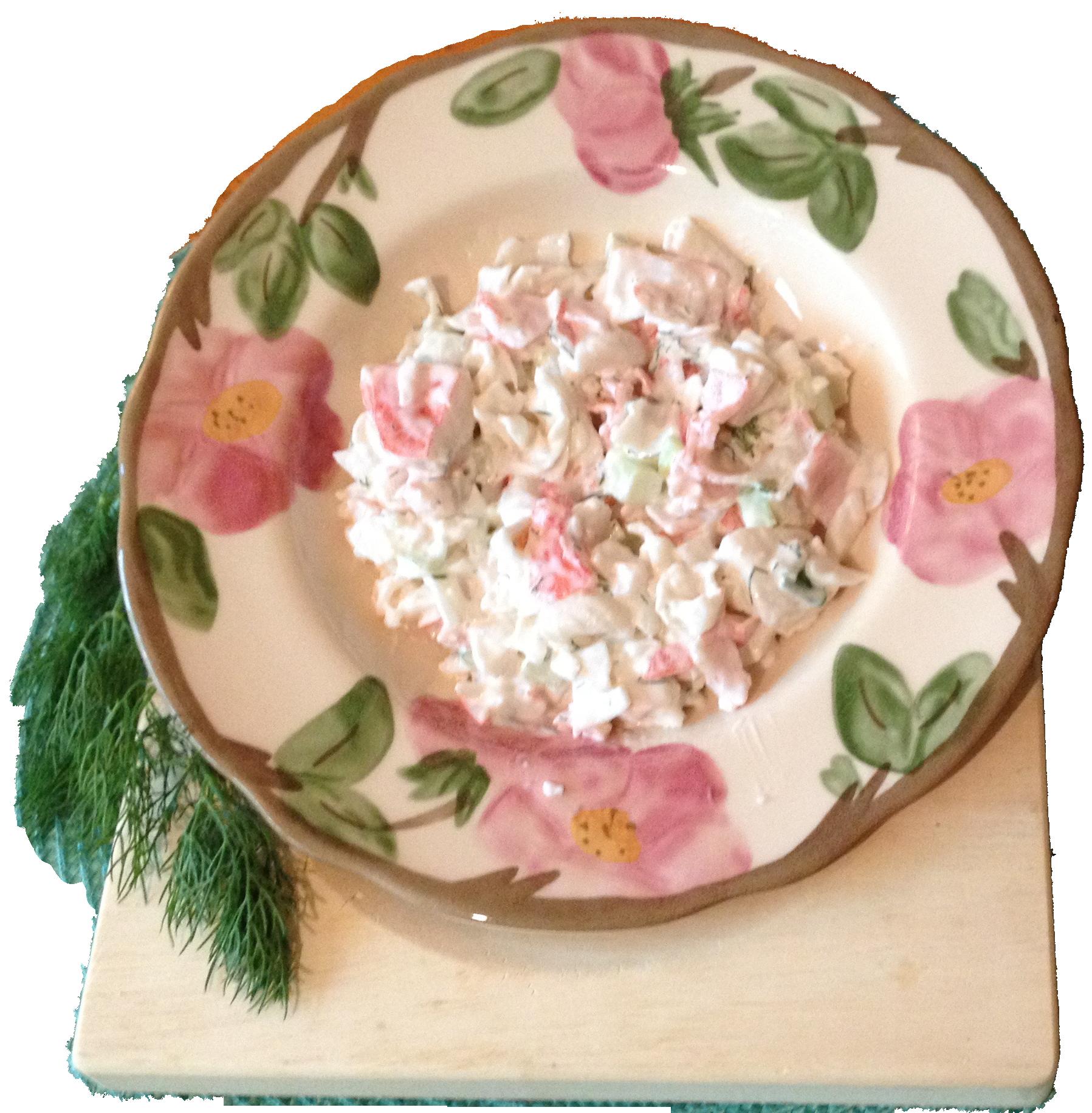 Moonaliscious Crab Salad