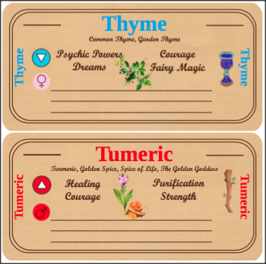Herb and Spice Labels for Magickal Cupboards – Lunar Home