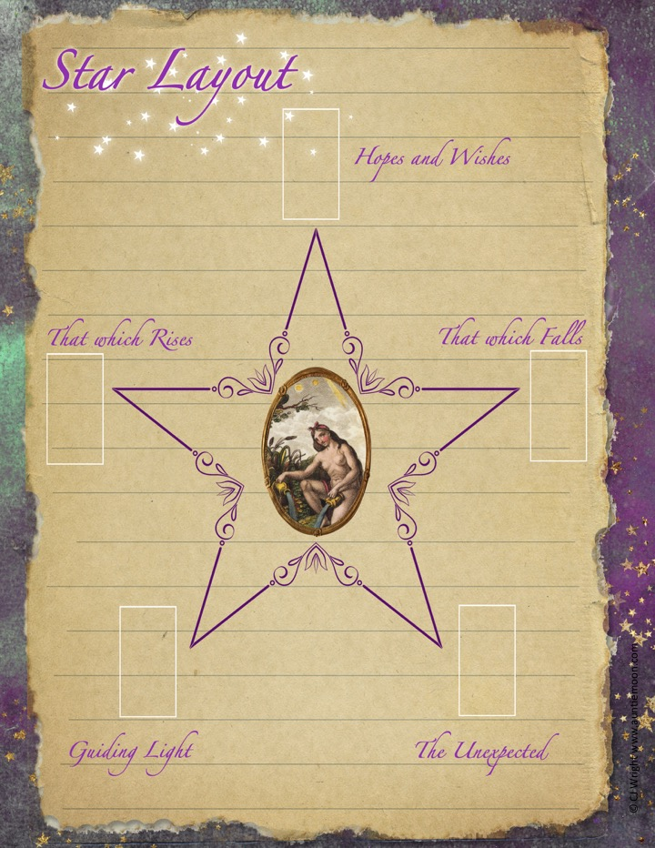 Free Printable: The Star Tarot Layout